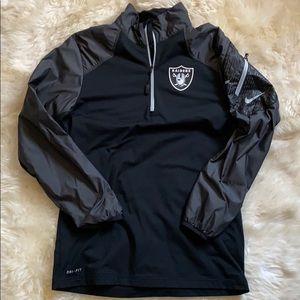 Nike Oakland Raiders On-Field Quarter Zip